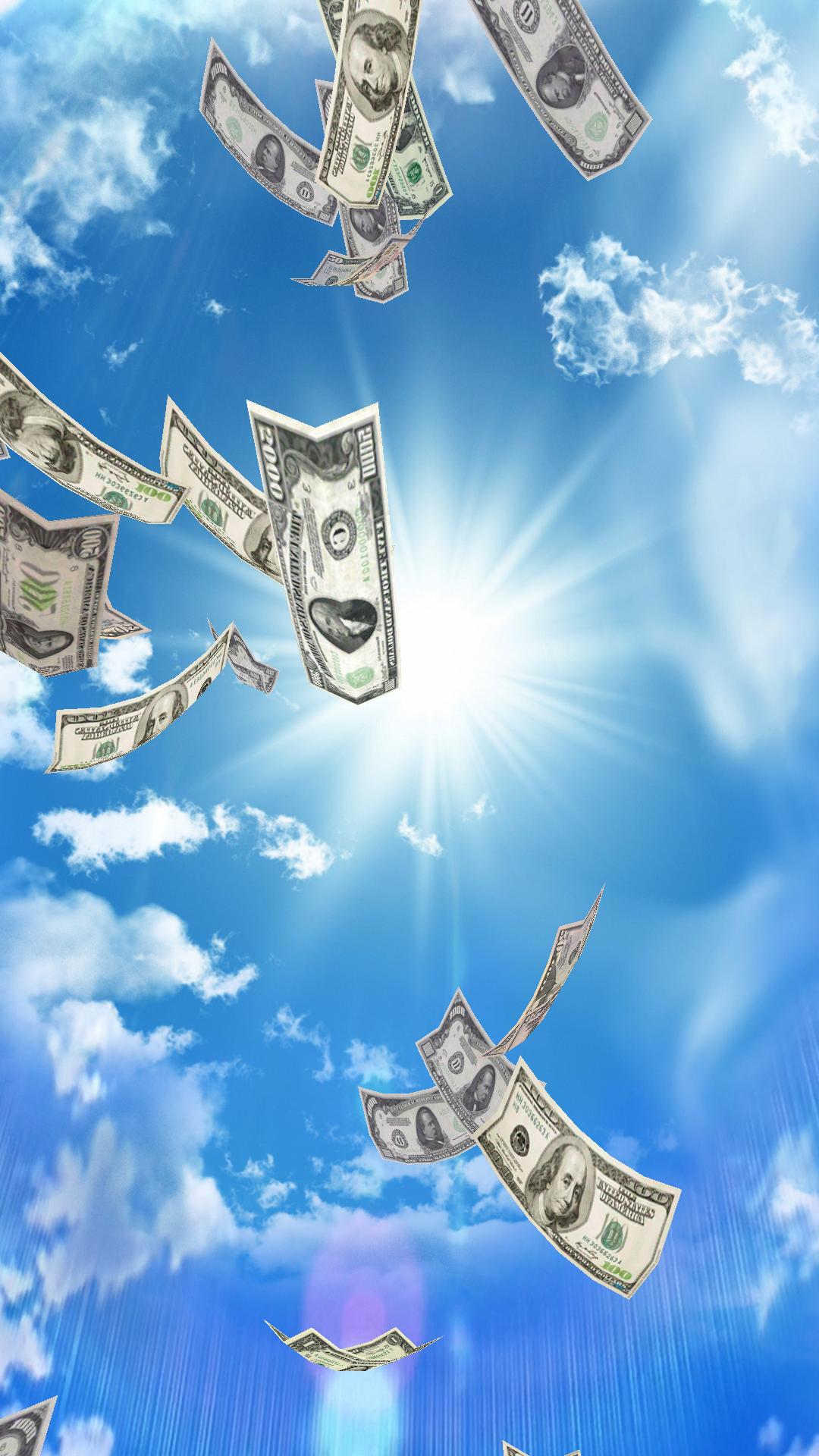Falling Money 3D Wallpaper - MaxLab - android programs ...