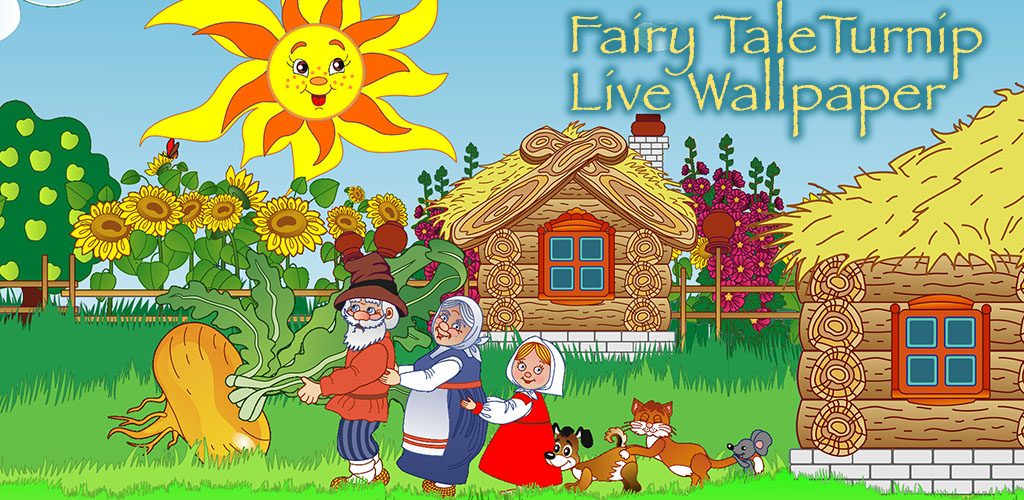 Fairy Tale Turnip Live Wallpaper