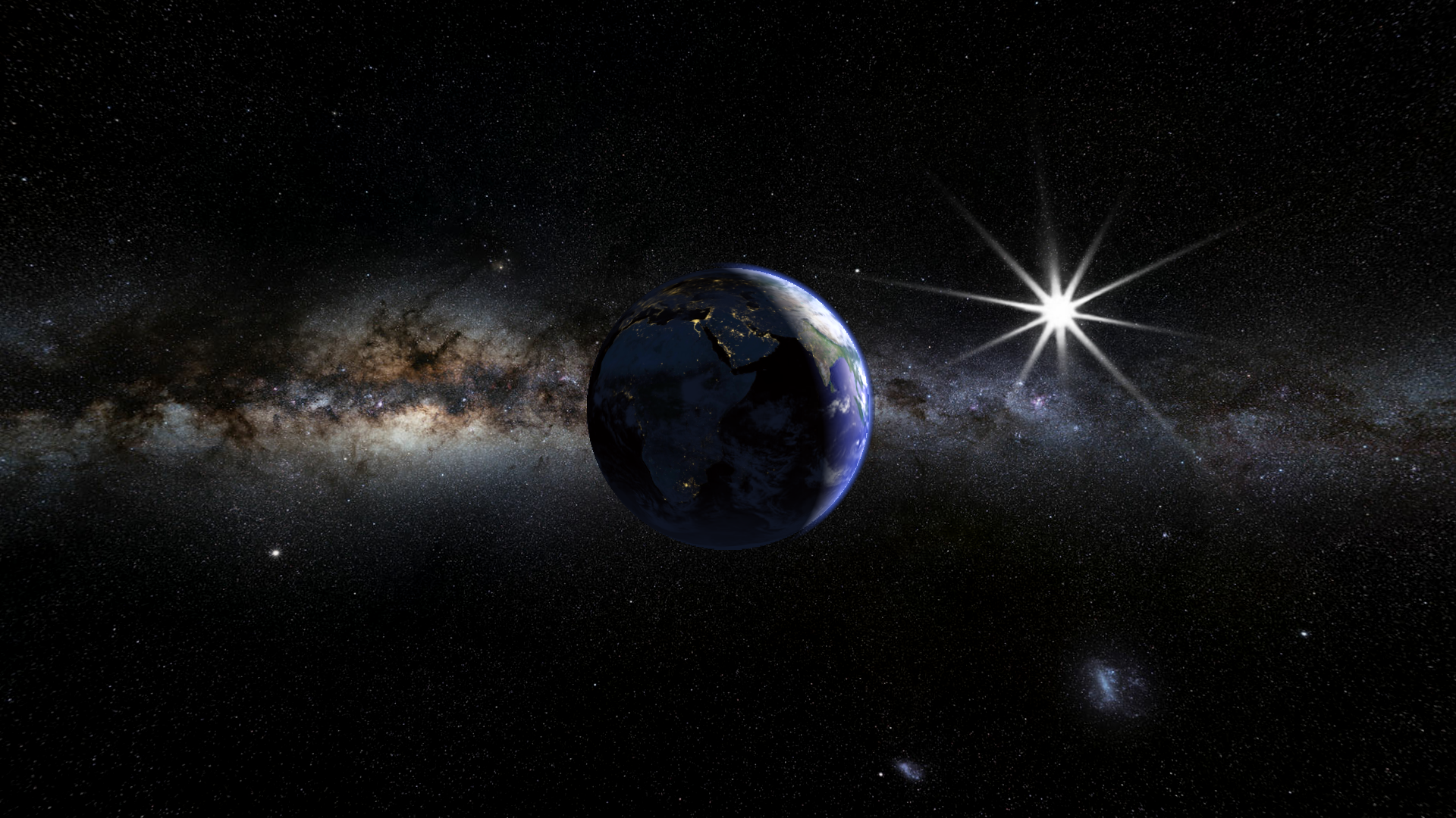 earth planet 3d live wallpaper - maxlab - android programs, live