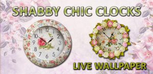 Shabby Chic Clocks Live Wallpaper