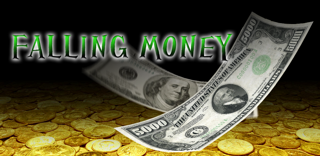 Falling Money Android Live Wallpaper
