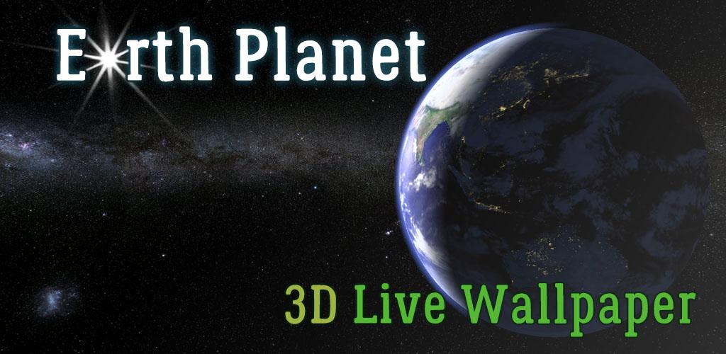 Earth Planet 3D Live Wallpaper - MaxLab - android programs ...