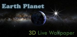 Earth Planet 3D Live Wallpaper