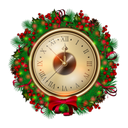 Christmas Clocks