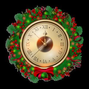 Christmas Clocks